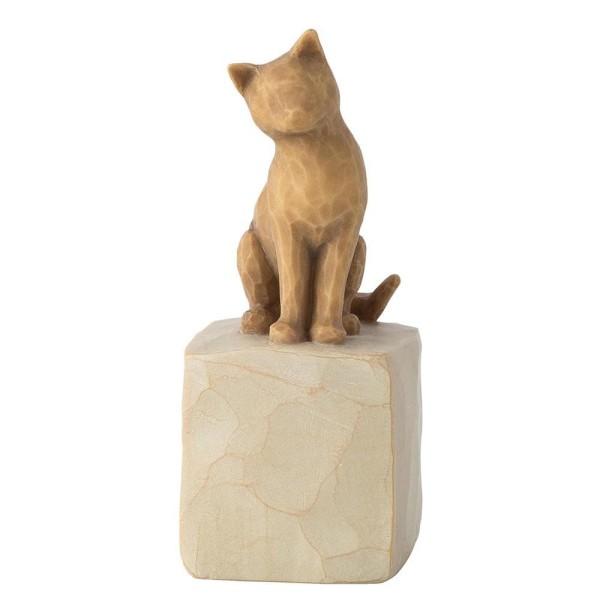 Willow Tree Figur Liebe meine Katze (Licht) / Love My Cat (Light)