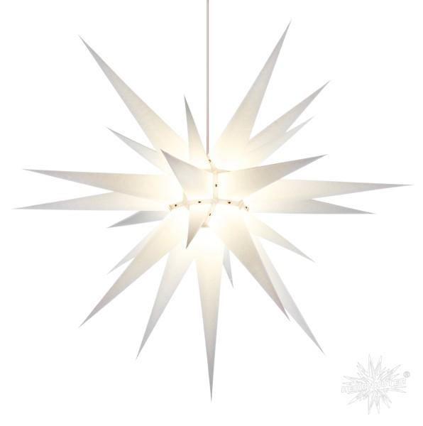 Herrnhuter Sterne ADVENTSSTERN Papier I8 ca. Ø80 cm | weiß