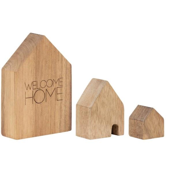 räder Holzhäuser SET Welcome Home