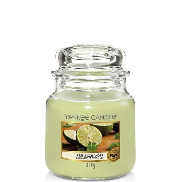Yankee Candle Housewarmer LIME & CORIANDER 411g
