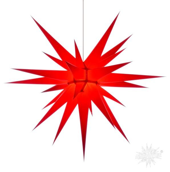 Herrnhuter Sterne ADVENTSSTERN Papier I8 ca. Ø80 cm | rot