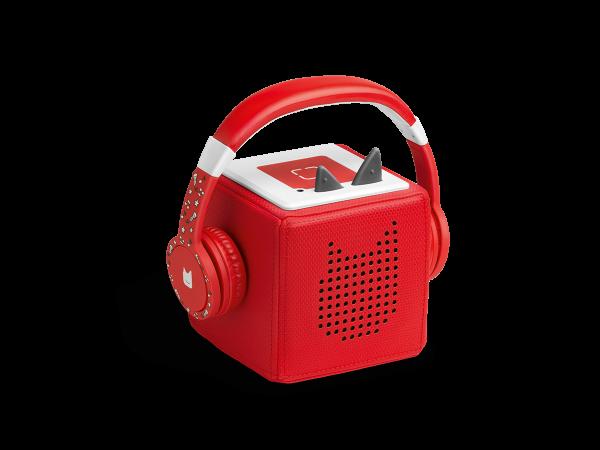 tonies® TONIE Lauscher rot | Kopfhörer für Toniebox