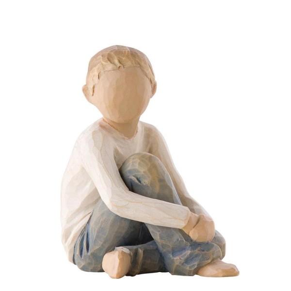 Willow Tree Figur Fürsorgliches Kind / Caring Child