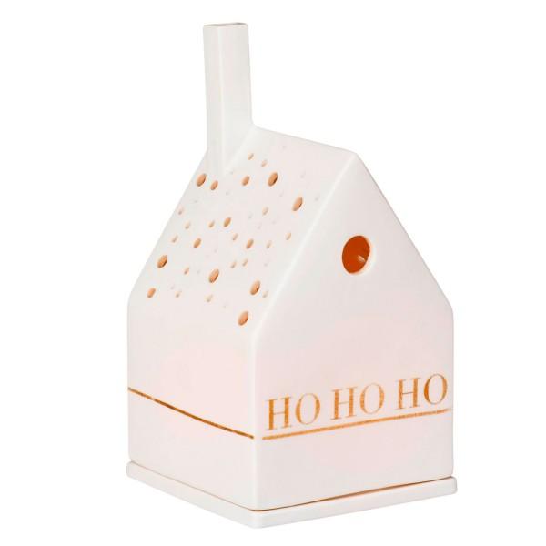 räder Porzellan LICHTHAUS X-Mas Ho Ho Ho / 7cm x 7cm x 10cm