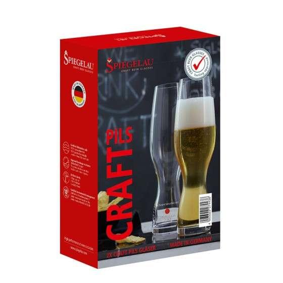 Spiegelau 2er Glasset | Geschenkset | Craft Beer Glas PILS | 380ml