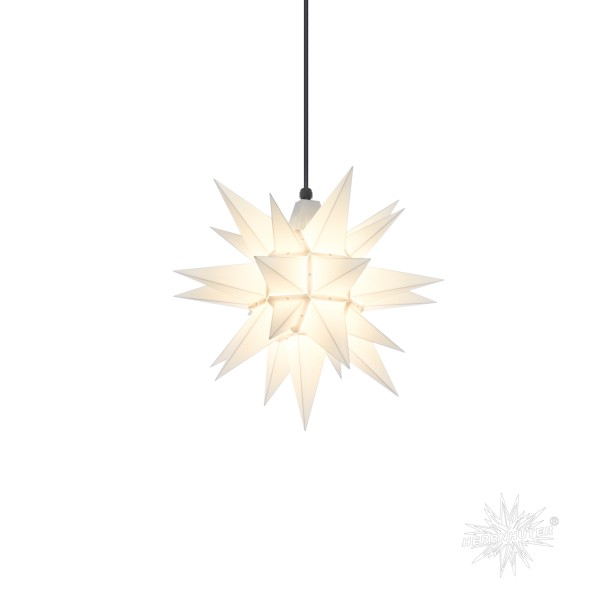 Herrnhuter Sterne ADVENTSSTERN Kunststoff A4 ca. Ø40 cm | weiß