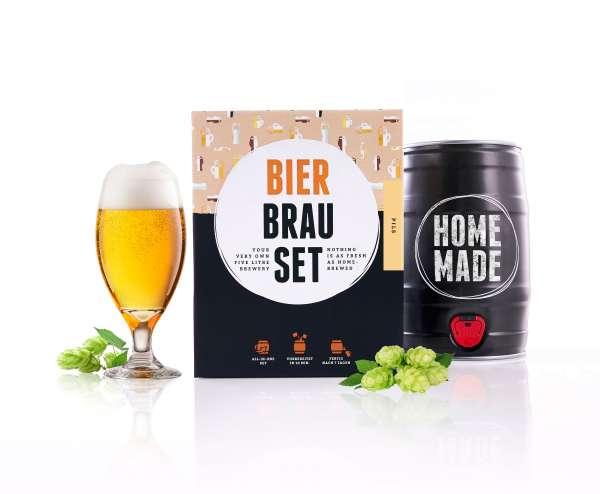 Braufässchen Bierbrauset PILS Geschenkset | 5 Liter | in 7 Tagen fertig