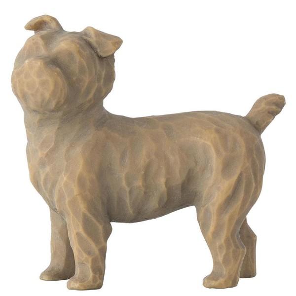 Willow Tree Figur Liebe meinen Hund (klein, stehend) / Love My Dog (Small, Standing)