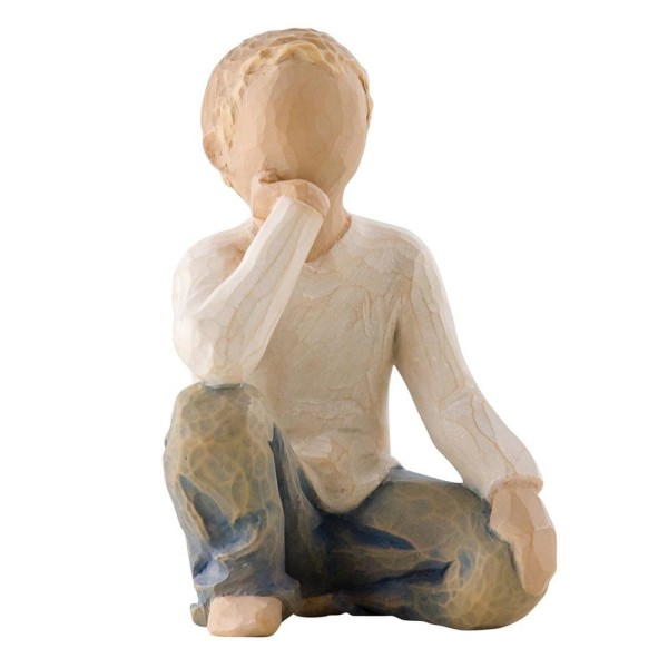 Willow Tree Figur Neugieriges Kind / Inquisitive Child