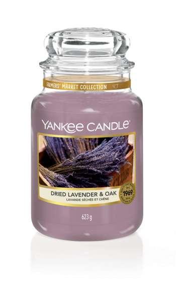 Yankee Candle Housewarmer DRIED LAVENDER & OAK 623g