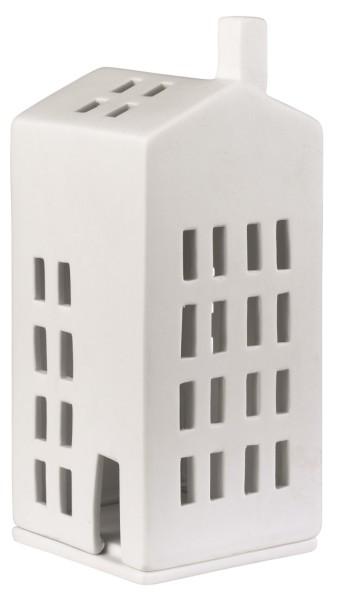 räder Porzellan LICHTHAUS kleine Fenster / 7,5cm x 7,5cm x 16cm