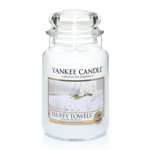 Yankee Candle Housewarmer FLUFFY TOWELS 623 g