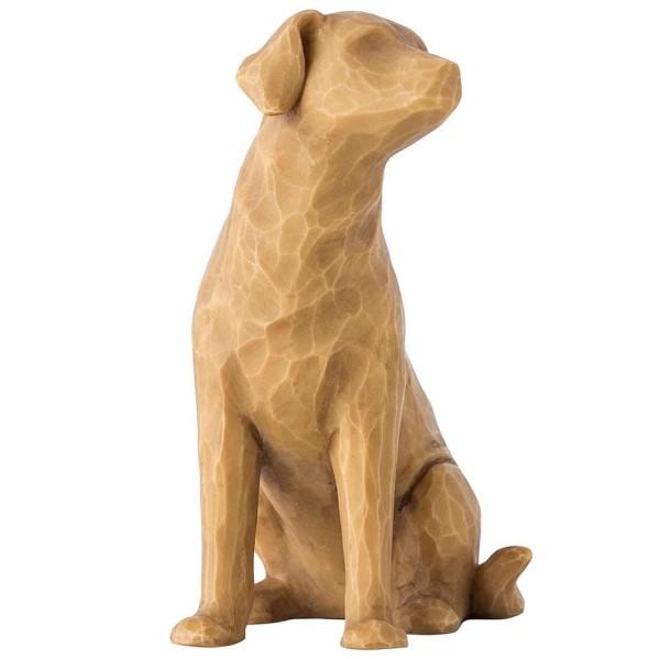 Willow Tree Figur Liebe meinen Hund (Licht) / Love My Dog (Light)