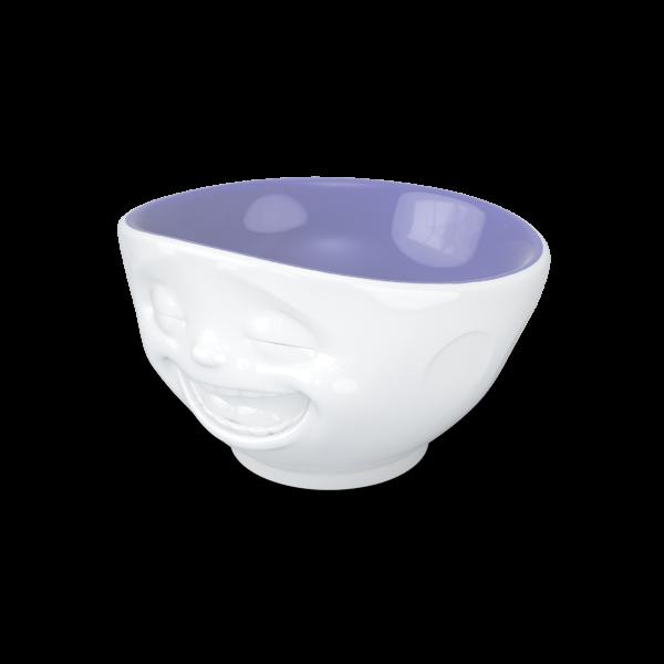 Fiftyeight Schale LACHEND ca. 500ml innen farbig / lavendel