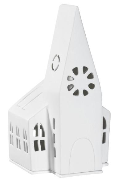 räder Porzellan LICHTHAUS Kirche / 13cm x 11cm x 22cm