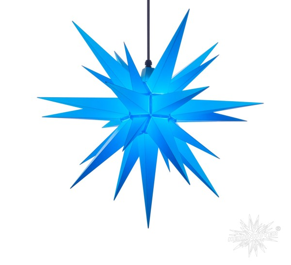 Herrnhuter Sterne ADVENTSSTERN Kunststoff A7 ca. Ø68 cm   blau