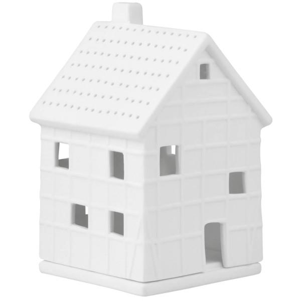 räder Porzellan LICHTHAUS Fachwerkhaus klein / 7cm x 7,5cm x 12cm